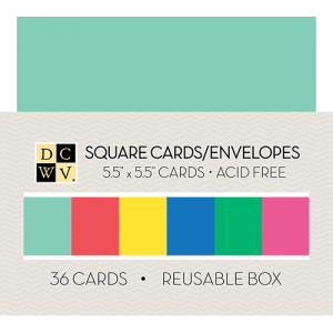 CM-002-00022_DCWV_CARDMAKING_BOXOFCARDS_5.5X5.5_36CT_BRIGHTS