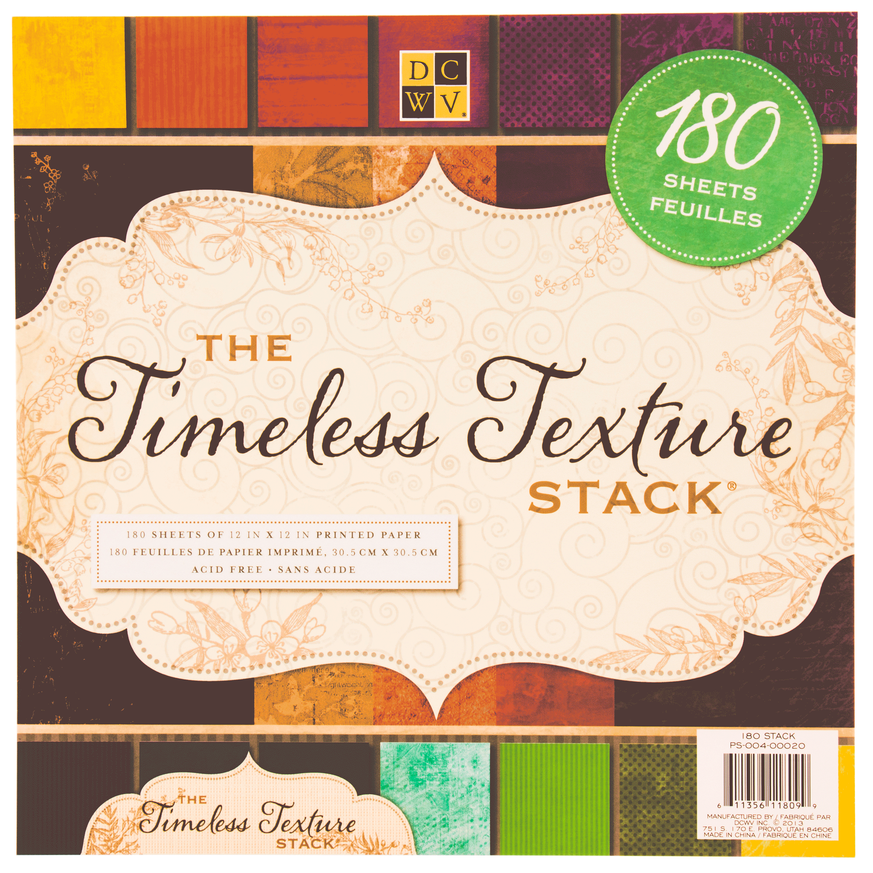 12 X 12 Paper Stack Timeless Texture Dcwv