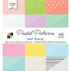 PS-006-00107_DCWV_CARDSTOCKSTACKS_DOUBLESIDED_48CT_6X6_PASTELPATTERNS